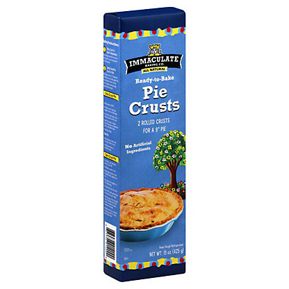 Immaculate Baking Co. 9 Inch Pie Crusts,2 CT