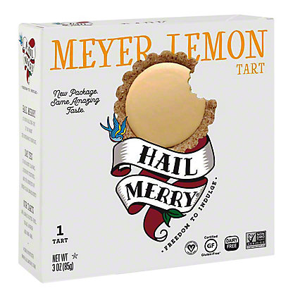 Hail Merry Meyer Lemon Tart,3 oz