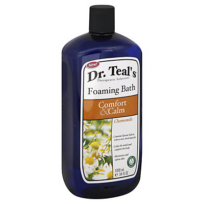 Dr Teal's Foaming Bath, Comfort And Calm with Chamomile,34 OZ