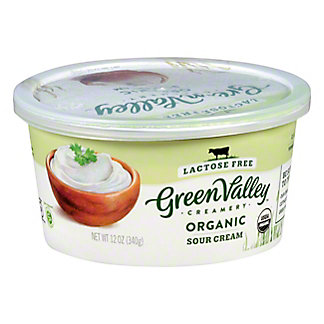 Green Valley Organics Sour Cream,12 oz