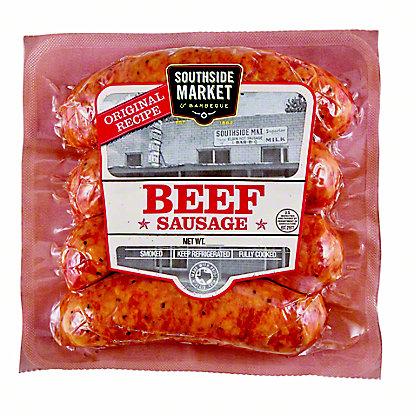 Southside Market & BBQ Beef Sausage,13.3 OZ