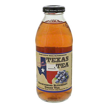Texas Tea Green Nacogdoches Blueberry Tea,16 oz