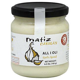 Matiz Catalan Matiz Garlic Aioli Sauce,6.50 oz