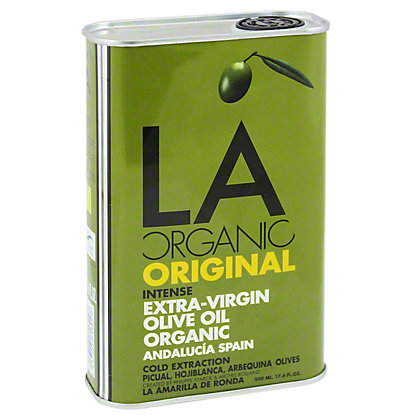 LA Organic Intense Extra Virgin Olive Oil, 17.6OZ