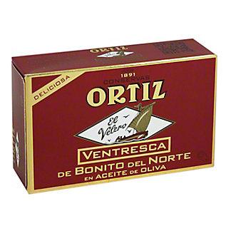 Ortiz Ventresca White Tuna Belly In Olive Oil, 110GR