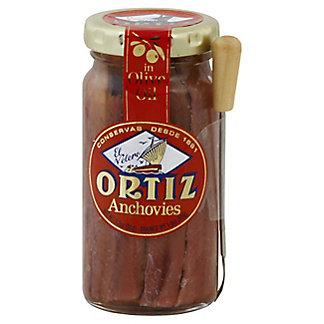 Ortiz Ortiz Anchovies In Olive Oil W/ Fork, 3.3 oz