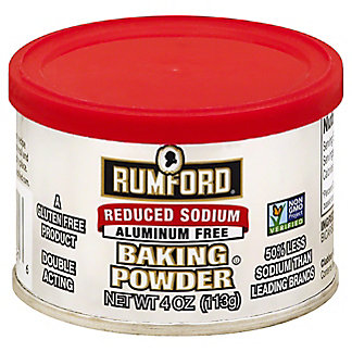 Rumford Reduced Sodium Baking Powder,4 oz