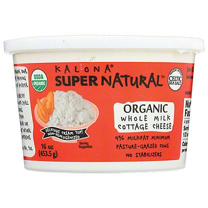 Kalona Supernatural Organic Cottage Cheese,16 OZ