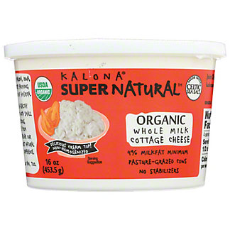 Kalona Supernatural Organic Cottage Cheese,16 OZ