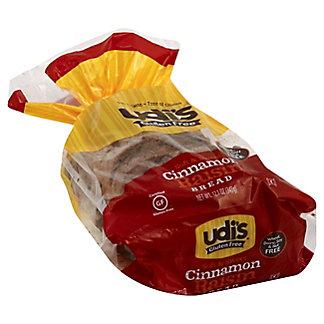 Udi's Gluten Free Cinnamon Raisin Bread, 12 oz