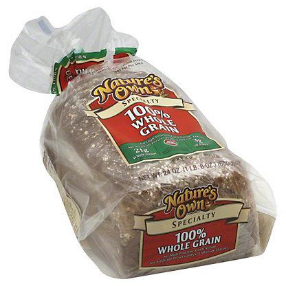Nature's Own 100% Whole Grain Specialty Bread, 24 OZ