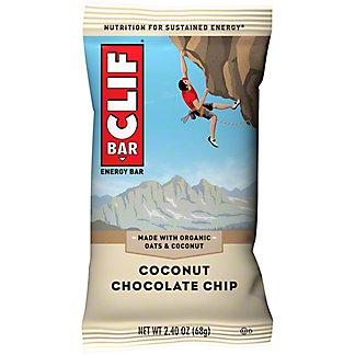 Clif Coconut Chocolate Chip Energy Bar, 2.4 oz