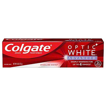 Colgate Optic White Sparkling Mint Toothpaste, 5 oz
