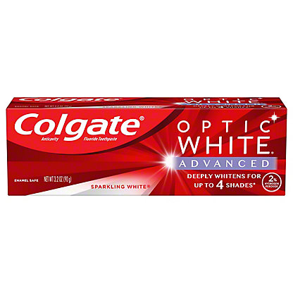 Colgate Optic White Sparkling Mint Toothpaste, 3.5 oz