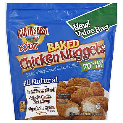 Earths Best Kidz Baked Chicken Nuggets,16 OZ