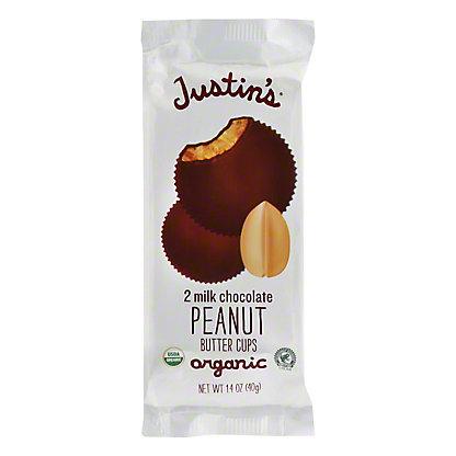 Justin's Organic Milk Chocolate Peanut Butter Cups, 2 ct
