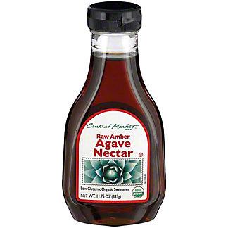 Central Market Organics Raw Amber Agave Nectar,11.75 OZ