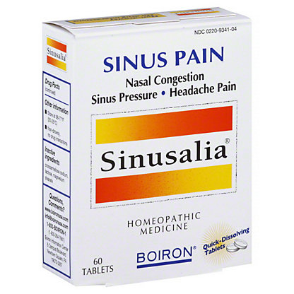 Boiron Sinusalia Sinus Pain Tablets,60 CT