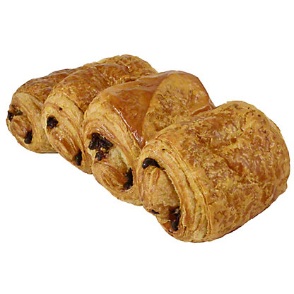 Central Market French Butter Chocolate Croissants 4 Count, 9 OZ