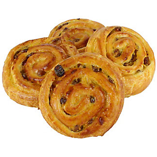 Central Market Pain Aux Raisins 4 Count, 12 OZ