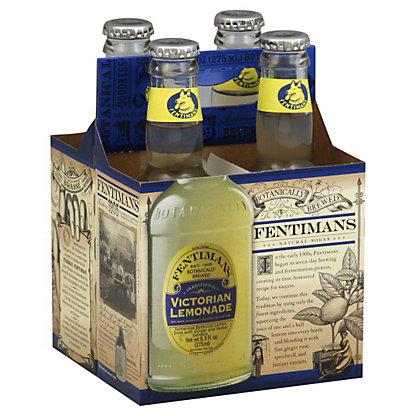Fentimans Victorian Lemonade, 4 - 9.3 fl oz (275 ml) bottles