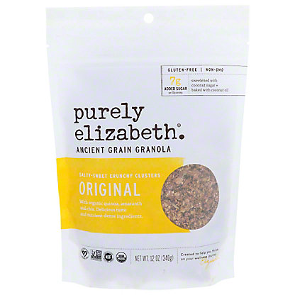 Purely Elizabeth Ancient Grain Original Granola Cereal, 12 oz