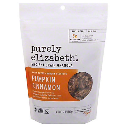 Purely Elizabeth Ancient Grain Pumpkin Fig Granola Cereal, 12 oz