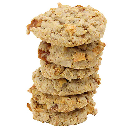 Central Market Caramel Apple Praline Cookies, 6 ct