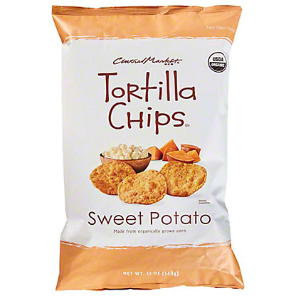 Central Market Sweet Potato Tortilla Chips with Sea Salt, 12 oz