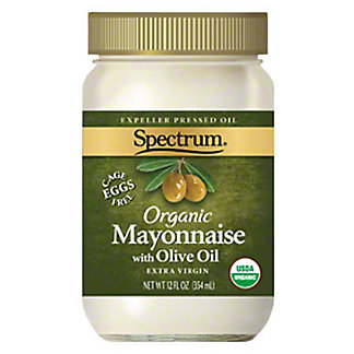 Spectrum Organic Olive Oil Mayonnaise,12 OZ