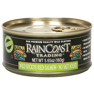 Raincoast Trading No Salt Sockeye Salmon,5.65Z