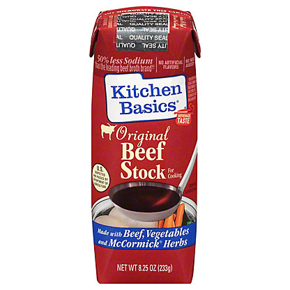 Kitchen Basics Original Beef Cooking Stock, 8.25 oz