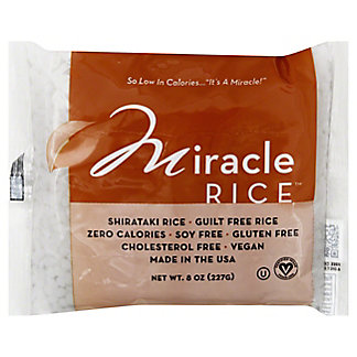 Miracle Rice Shirataki Rice, 8 oz