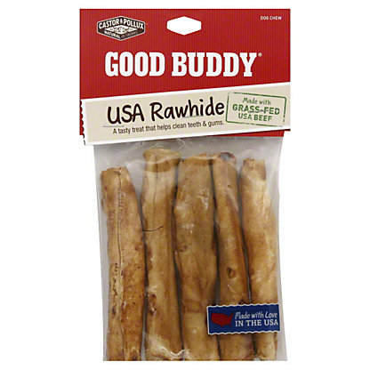 Castor & Pollux Good Buddy Chicken Flavored Rolls 5 Inch Dog Chew, 5 CT