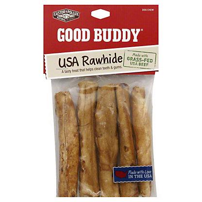 Castor & Pollux Good Buddy Chicken Flavored Rolls 5 Inch Dog Chew, 5 CT