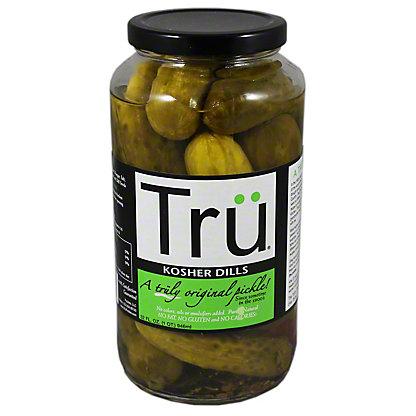 Tru Natural Dill Pickles,32 OZ