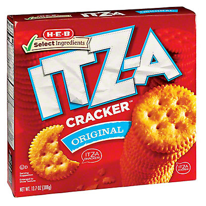 H-E-B Select Ingredients ITZ-A Original Crackers,13.7 oz