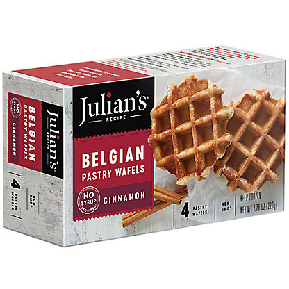 Julian's Recipe Sweet Belgian Waffles Cinnamon,7.8 OZ