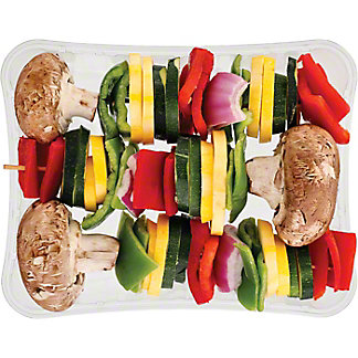 Fresh 3 Skewer Kabob Vegetables, 3 ct