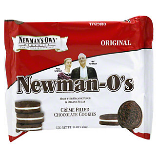 Newmans Own Newman-os Creme Filled Chocolate Cookies,13 oz