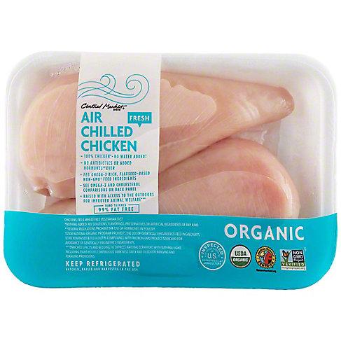 Central Market Organic Boneless Skinless Chicken Breasts