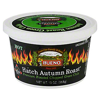 Bueno Hatch Autumn Roast Hot Green Chile,13 OZ