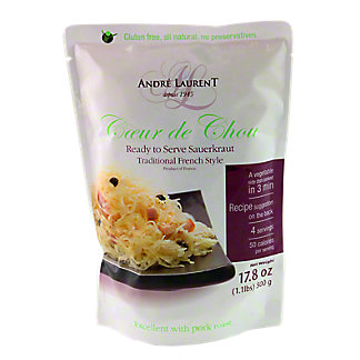 Andre Laurant Traditional Style Sauerkraut, 17.8 OZ