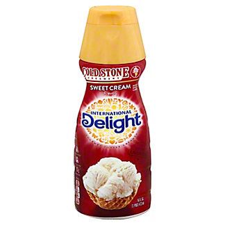 International Delight Gourmet Cold Stone Creamery Sweet Cream Coffee Creamer, 16 oz