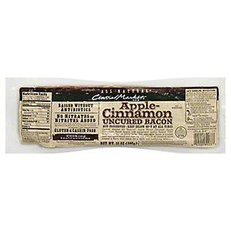 Central Market Natural Uncured Apple-Cinnamon Bacon,12 oz