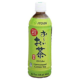 Ito En Oi Ocha Unsweetened Japanese Green Tea, 16.9 oz