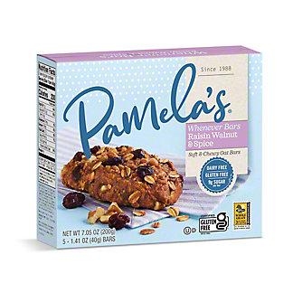 Pamela's Oat Raisin Walnut Spice Whenever Bars, 5 ct