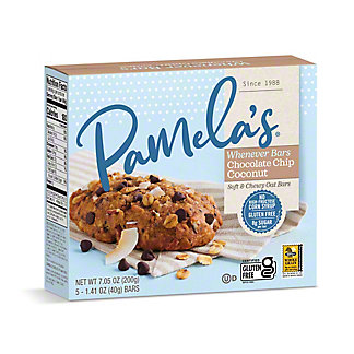 Pamela's Oat Chocolate Chip Coconut Whenever Bars, 5 ct