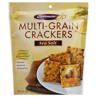 Crunchmaster Crackers, Multi-Seed, Sea Salt,4.5 oz