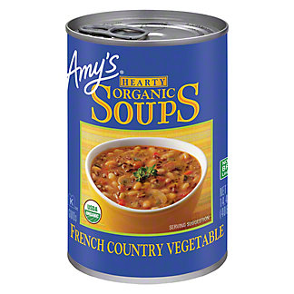Amy's Hearty Organic French Country Vegetable Soup,14.4 OZ